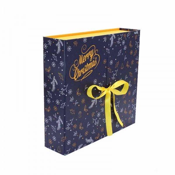 Innovative Christmas Calendar Storage Box Chocolate Packaging Paper Gift Box