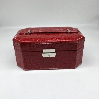 High Quality Luxury Handmade Cosmetic PU Jewelry Packaging Box