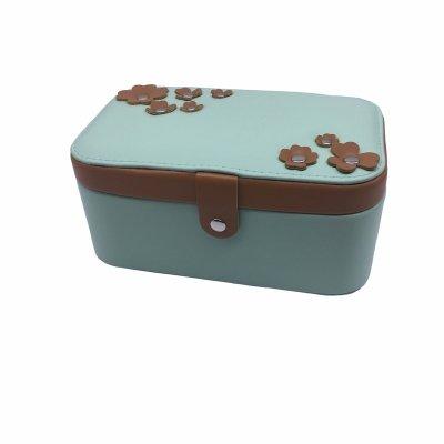 Portable Travel Jewelry Storage Box For Lady Organizer Storage Case