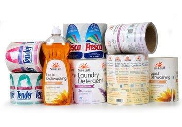 Detergent Bottle Labels Roll