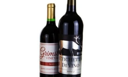 PMS printing of bottle labels