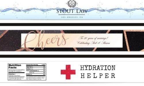 Customizable bottle labels