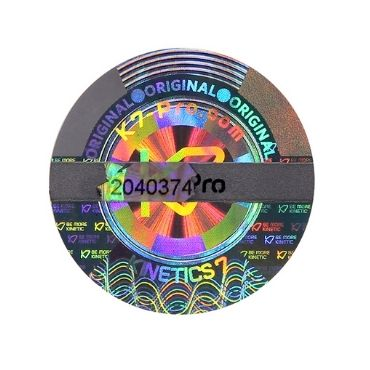Warning hologram sticker