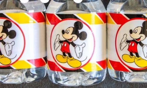 Waterproof bottle labels