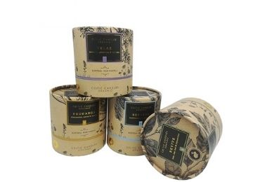 Candle paper tube packaging