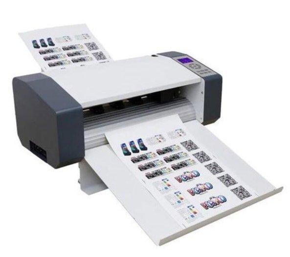 cutting machine for sticker label