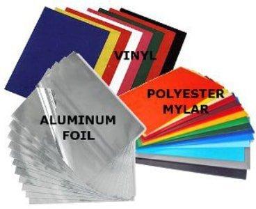 materials for sticker label