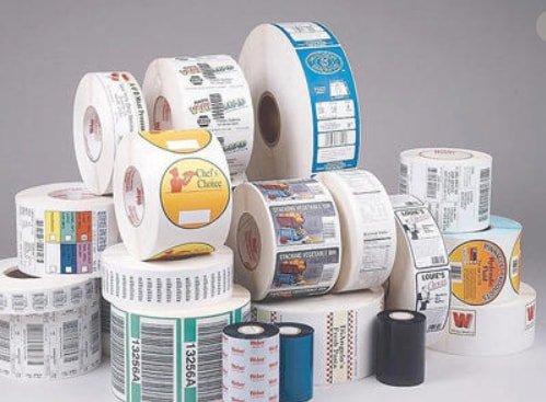 Types Self Adhesive Labels