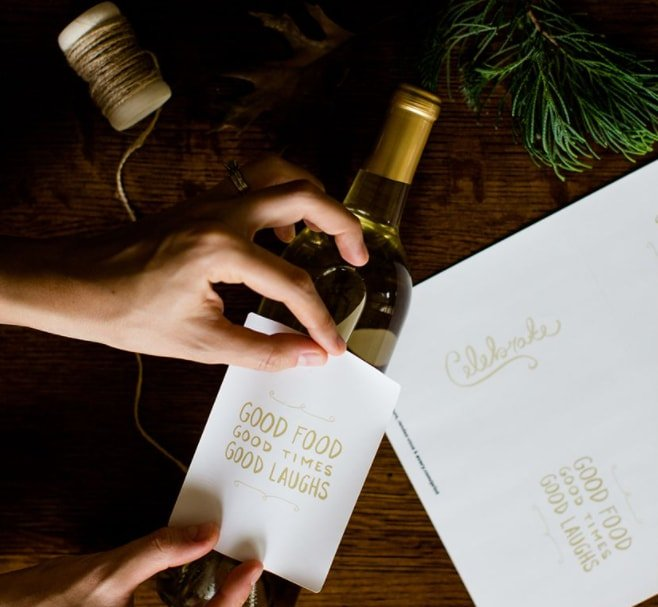 Attach Wine Labels