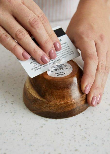 Remove Self Adhesive Label