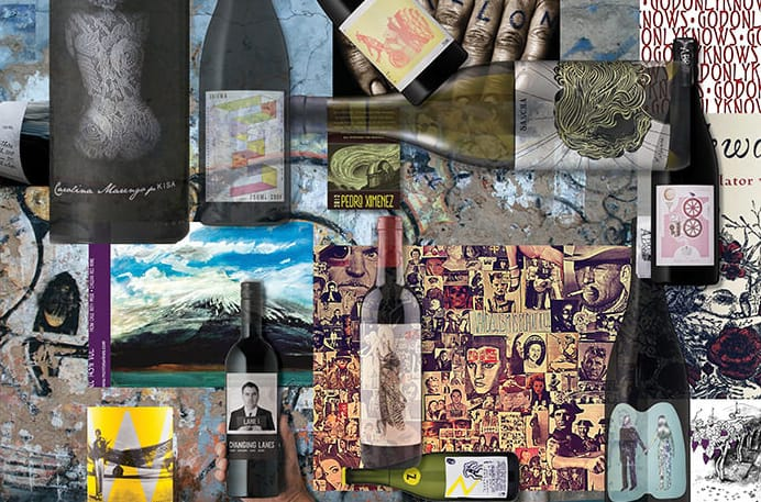 What makes a good wine label