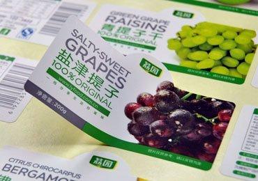 Food Self Adhesive Labels