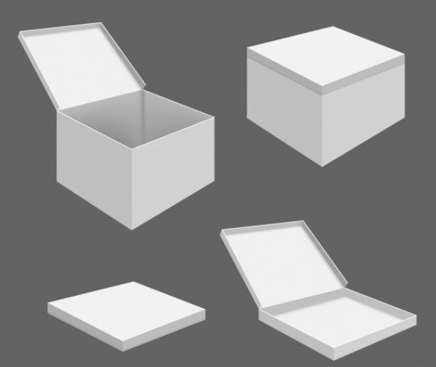 Free packaging box templates