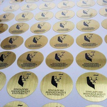Gold Foil Sticker Sheet