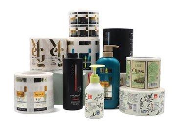 Skincare Self Adhesive Labels