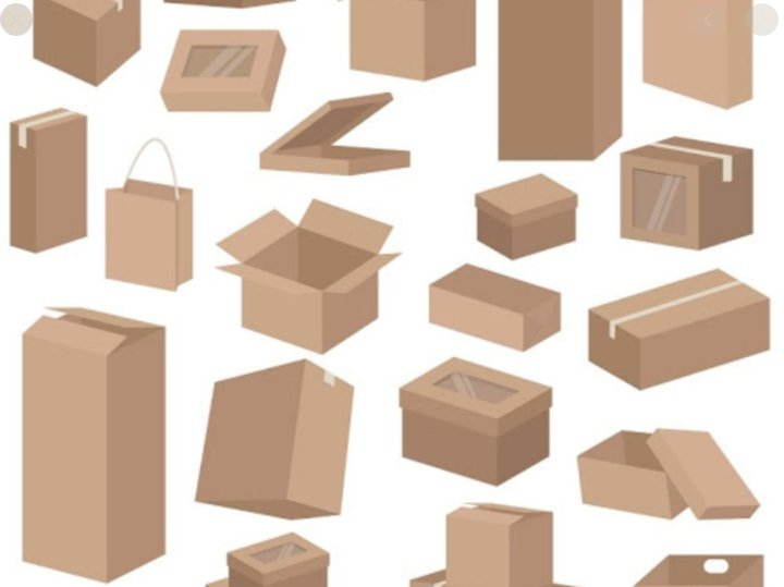 Types of packaging boxes