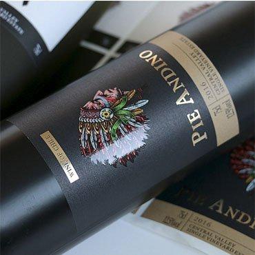 UV printing wine labels