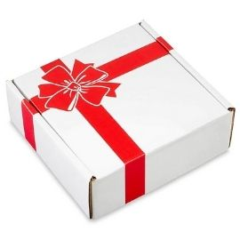 Holiday mailer box
