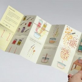 Personalized folded booklet