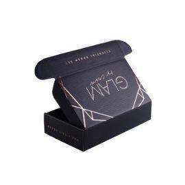 Hot stamping black mailer box