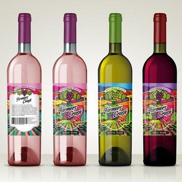 Waterproof Wine Labels