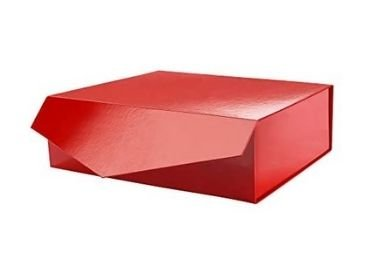 magnetic gift box with silk tray