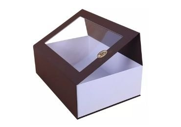 magnetic gift box with window
