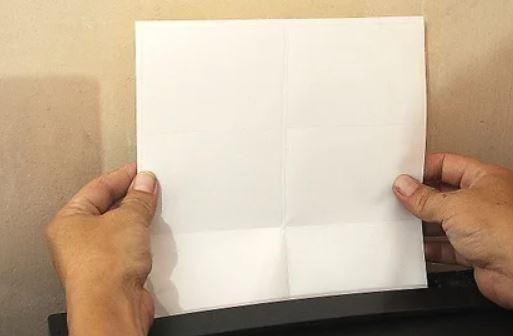 sticker sheet in a printer