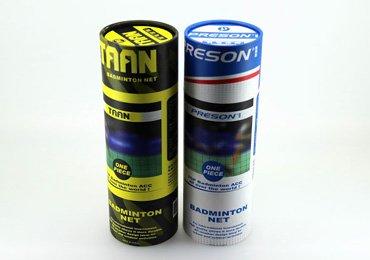 Badminton Paper Tube Packaging