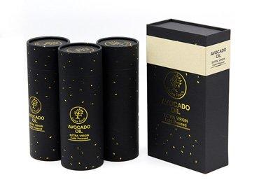 Essential Oil Paper Tube Packaging