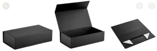 collapsible magnetic gift box