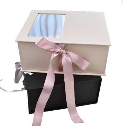 magnetic gift boxes with window