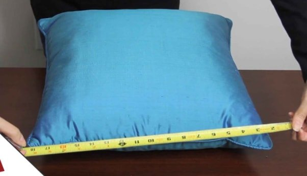 Measuring pillow box