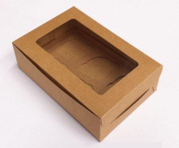 cardboard display box with window
