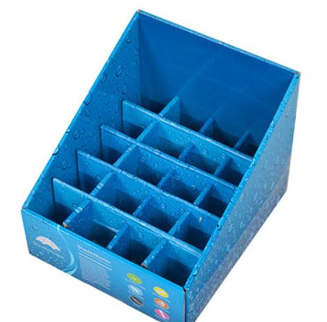 waterproof cardboard display box