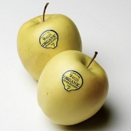 Food label sticker for fruits