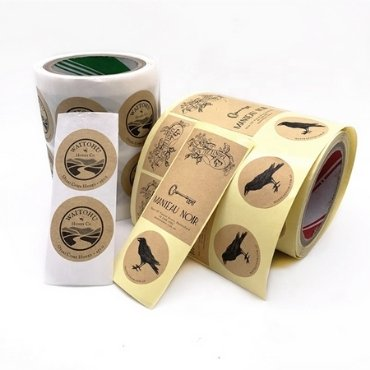 Kraft Paper Honey Label