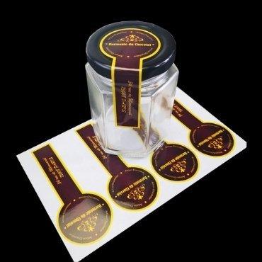 Lid Seal Sticker Honey Label