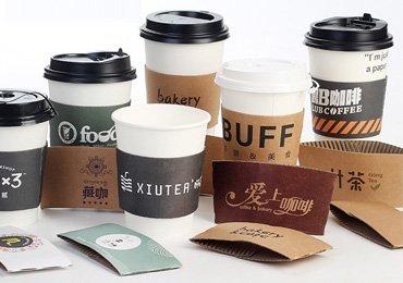 Packaging Sleeves for Coffee Cup