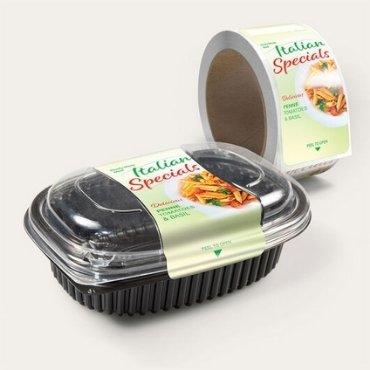 Restaurant Takeaway Food Label Stickers