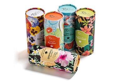 Tea Paper Tube Packaging