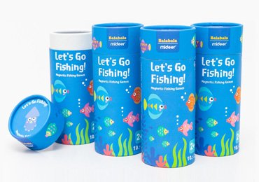 Toys Paper Tube Packaging