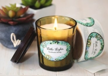 Printable candle label