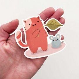 cute die cut stickers