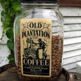 Coffee Jar Label