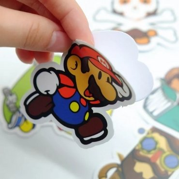 Cartoon Die Cut Stickers