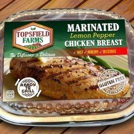 customize frozen food label sticker