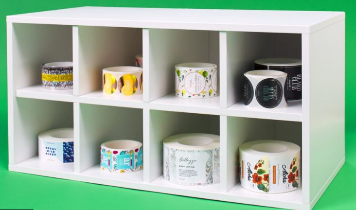 organize roll form labels