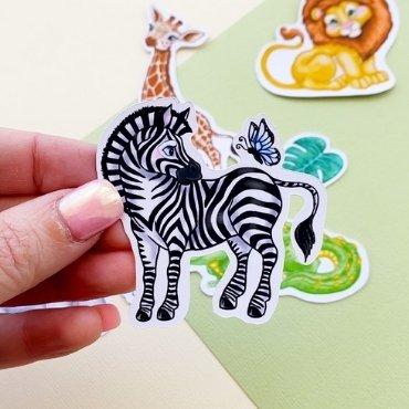 Die Cut Stickers Pack