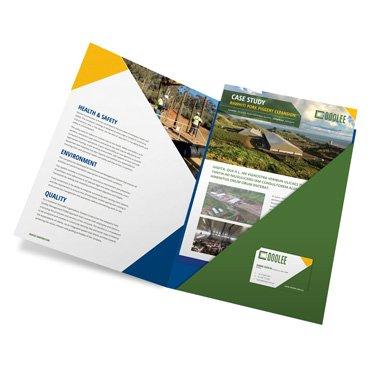 Booklet with Folder Pocket